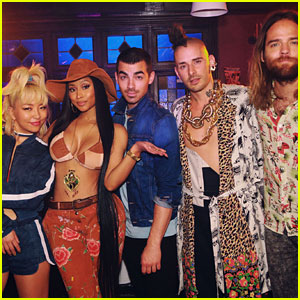 DNCE Drops New Song 'Kissing Strangers' with Nicki Minaj - Listen Now!