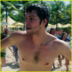 Dylan O'Brien - All The Times He Goes Shirtless in the 'American Assassin' Trailer