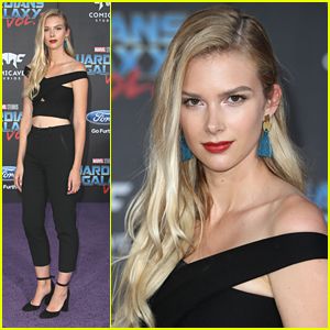Stitchers' Emma Ishta & Kyle Harris Hit 'Guardians of the Galaxy Vol 2' Premiere