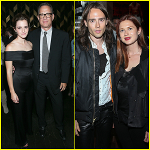 Emma Watson Has Mini 'Harry Potter' Reunion With Bonnie Wright!