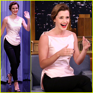 Emma Watson Once Mixed Up Jimmy Fallon & Jimmy Kimmel - Watch Now!