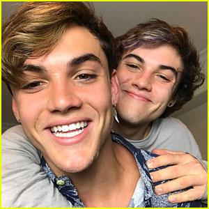 Grayson Dolan Just Pulled An Epic April Fool's Day Prank on Twin Ethan Dolan