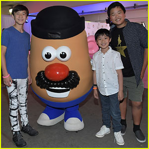 'Fresh Off The Boat' Kids Meet Mr. Potato Head at Zimmer Children's Museum's FUNdraiser!