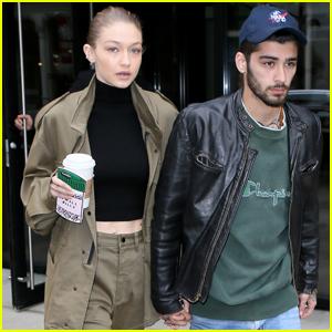 Gigi Hadid & Zayn Malik Couple Up in NYC