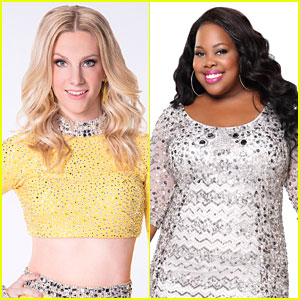 Heather Morris Got Amazing Advice From Amber Riley For 'Dancing With The Stars'