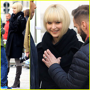 Jennifer Lawrence Begins Filming 'Red Sparrow' in Austria