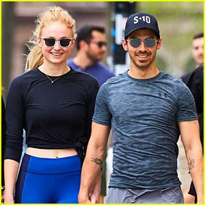 Joe Jonas & Sophie Turner Make One Happy Workout Couple