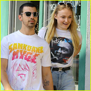 Joe Jonas Spends the Afternoon with Girlfriend Sophie Turner in WeHo