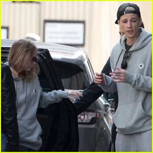 Lily-Rose Depp & Boyfriend Ash Stymest Are a Matching Couple!