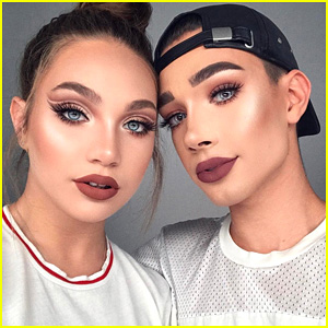 Watch Coverboy James Charles Do BFF Maddie Ziegler's Makeup (Spoiler: It's Gorgeous!)