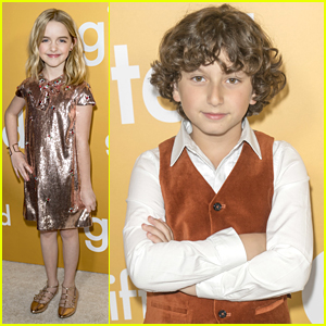 August Maturo Supports BFF McKenna Grace at Her Movie Premiere!