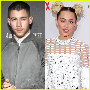 Nick Jonas Celebrates Throwback Thursday by Listening to Miley Cyrus!