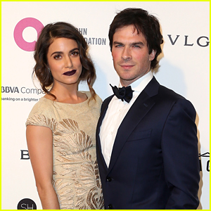Nikki reed ian somerhalder share sweet messages to each other on nikki reed ian somerhalder share sweet messages to each other on their wedding anniversary junglespirit Images
