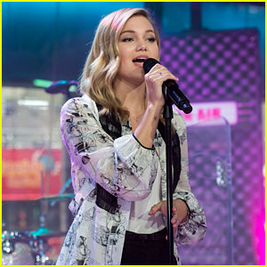 Olivia Holt Nailed Her First National Talk Show Performance -- Watch Now