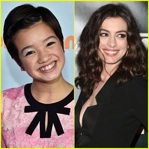 'Andi Mack' Star Peyton Elizabeth Lee Looks Up To Anne Hathaway