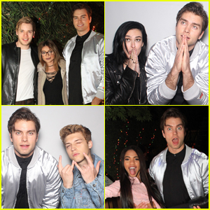 Pierson Fode Hosts 'Stranger Things' Themed Birthday Party!
