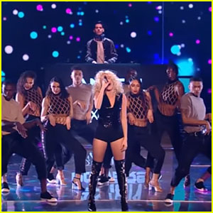 Pixie Lott Shows Off New Dance Moves on 'The Voice UK' with 'Baby' Performance