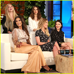 'Pretty Little Liars' Cast Take The 12 Days Challenge on 'Ellen' - Watch The Clip!