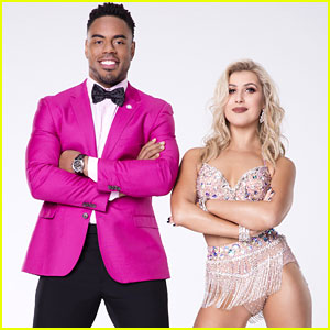 Emma Slater & Rashad Jennings Foxtrot on Disney Night DWTS Season 24 Week 5