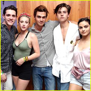 KJ Apa, Cole Sprouse & 'Riverdale' Cast Hit Up Coachella Together