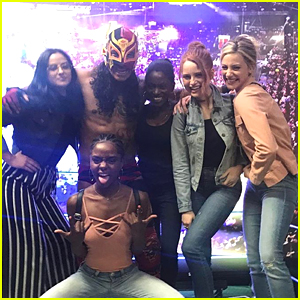 The 'Riverdale' Cast Went to Mexico City & Watched Their First Lucha Libre Wrestling Match!