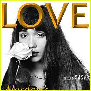 Rowan Blanchard Shows Off Freckles on 'Love' Magazine Cover