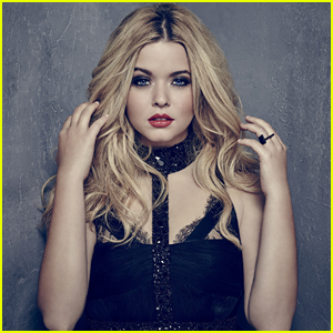PLL's Sasha Pieterse Plans Entire Outfits Around Nail Ring Wrap Gift From Marlene King