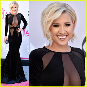 Savannah Chrisley Goes Sheer for ACMs 2017