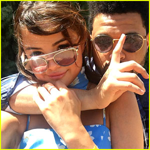 Selena Gomez & The Weeknd Wrap Arms Around Each Other at Coachella - See the Pic!