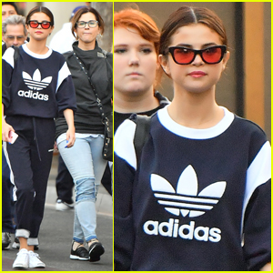 Selena Gomez Spends the Day at Disney With Her Fam!