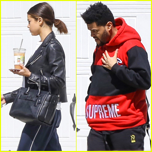 Selena Gomez Spends the Day with Boyfriend The Weeknd!