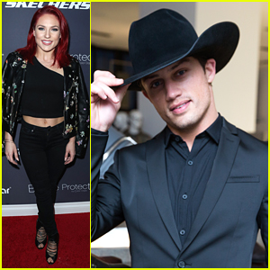 Sharna Burgess Shines at Hollywood Party While DWTS Partner Bonner Bolton Headed To NYC