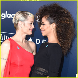 The Fosters' Sherri Saum & Teri Polo Share Cute Moment at GLAAD Media Awards 2017
