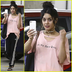 Vanessa Hudgens is All About Soul Cycle