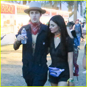Victoria Justice & Boyfriend Reeve Carney Couple Up at Coachella