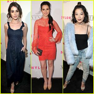 Adelaide Kane, Vanessa Marano & Arden Cho Celebrate Nylon's Young Hollywood Party in LA