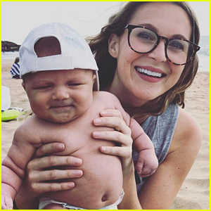 Alexa PenaVega Works Out With Baby Son Ocean: 'He Thinks We're Playing'