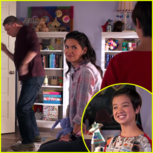 Andi & Bex Bond Over Dad Embarrassment in New 'Andi Mack' Clip
