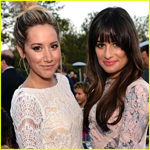 Ashley Tisdale & Lea Michele Are Fan-Girling Over Each Other on Twitter