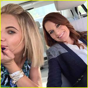 Ashley Benson Still Talks To 'PLL' Mom Laura Leighton A Lot