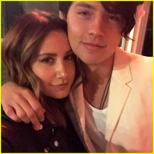 Ashley Tisdale & Cole Sprouse Share A Cute Mini 'Suite Life' Reunion Pic