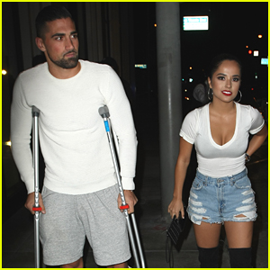 Becky G Enjoys Date Night Out With Boyfriend Sebastian Lletget