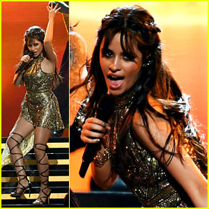 Camila Cabello Performs 'I Have Questions' & 'Crying in the Club' at BBMAs 2017!