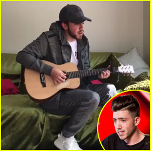 The X Factor's Christian Burrows Covers Ed Sheeran's 'Supermarket Flowers' - Watch Now!