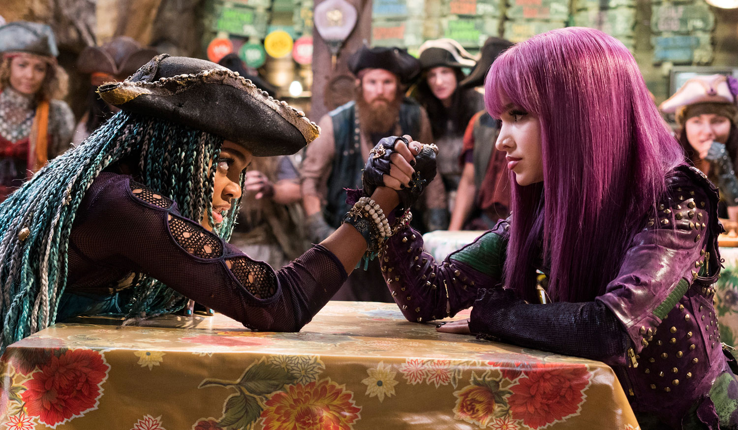 China mcclain breaking news and photos just jared jr page 5 - Mal Uma Arm Wrestle In These New Descendants 2 Photos