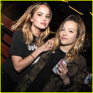 Debby Ryan Rocks Out At Emo Nite in Los Angeles