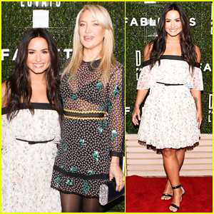 Demi Lovato Celebrates The Launch of Her Fabletics Collection!