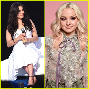 Lauren Jauregui & Dove Cameron Attend Powerful Panels at BeautyCon 2017