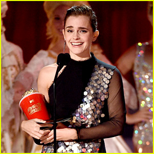 Emma Watson Credits Belle for MTV Movie & TV Awards Win! (Video)