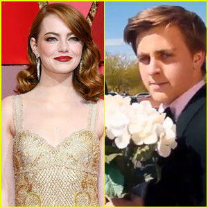 Emma Stone Sent the Teen Who Asked Her to Prom a Corsage